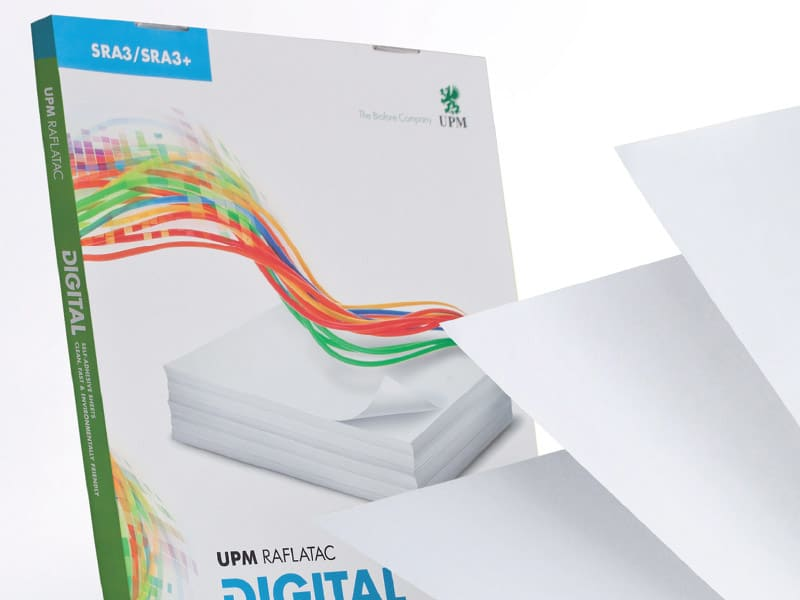 UPM Raflatac Digital Self-Adhesive Papers » Kalideck print