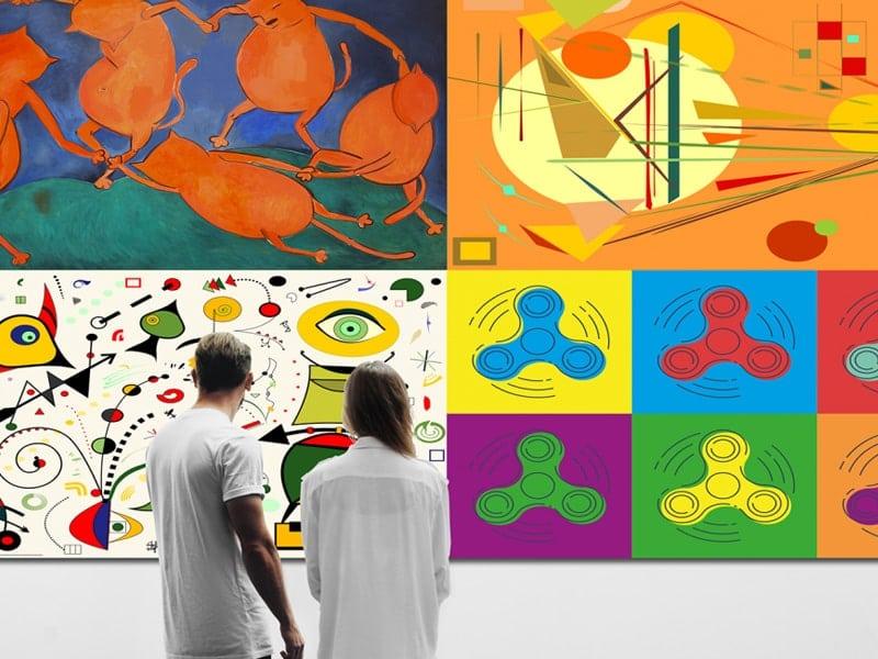 Miro fineart canvas