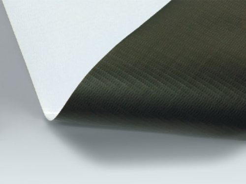 PVC Black back banner rolls