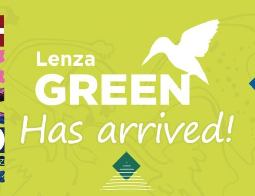 Lenza Green 100% Recycled Paper Has Arrived