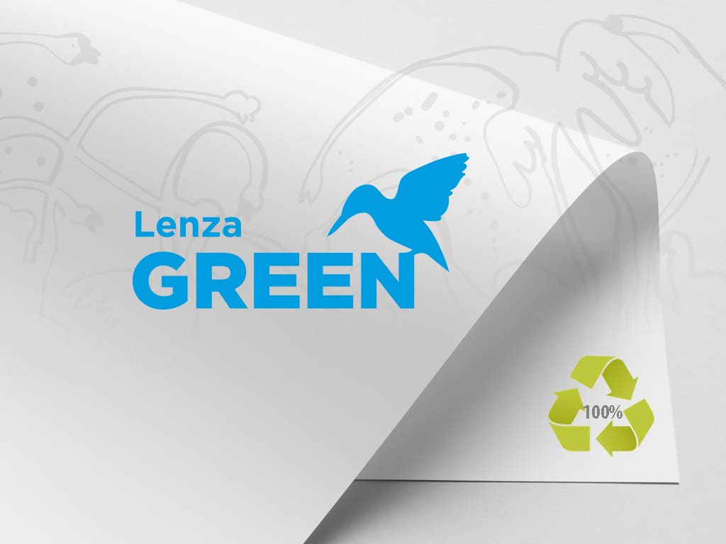 Lenza-Green -100% recycled paper
