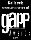 Kalideck associated sponsor of the Gapp awards 2020
