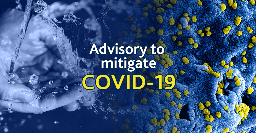 Mitigate COVID 19 threat